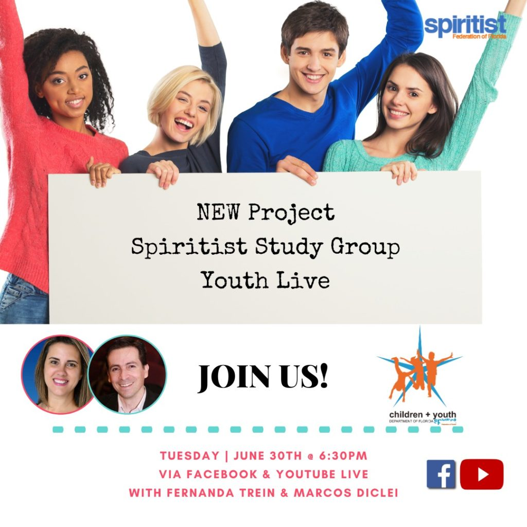 New Project Spiritist Study Group Youth Live
